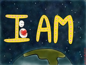 I AM x original image by alexa allen
