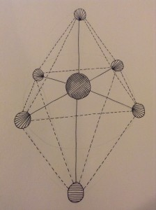 Axis Mundi - by Alexa Allen. This is the shape I was moving around in x